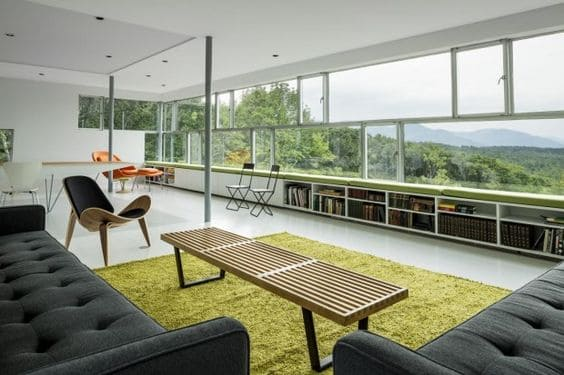 Casas mais extraordinárias do mundo: Tower House - sala de estar