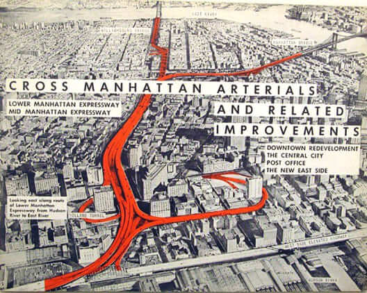Jane Jacobs: propaganda do projeto Lower Manhattan Expressway, de Roberto Moses