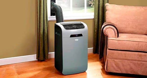 Tipos de ar condicionado: ar condicionado portátil