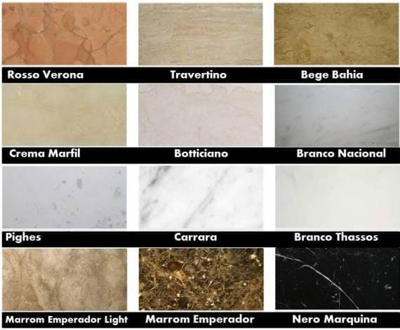 Balcão de mármore: tipos de mármore (foto: Doce Obra)