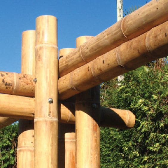 Casa de Bambu: técnica construtiva com bambu