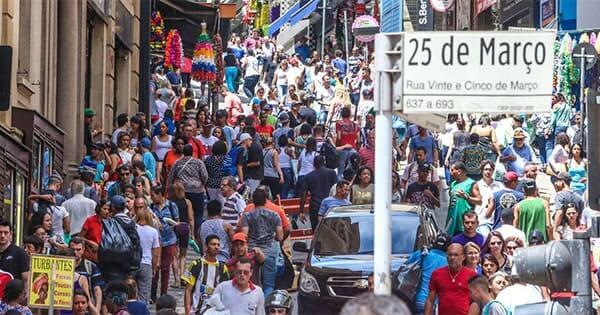 Centro Histórico de São Paulo: Rua 25 de Março