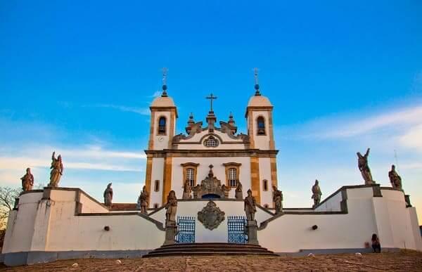 Cidades Históricas de Minas Gerais: Basílica Santuário do Bom Jesus de Matosinhos - Congonhas