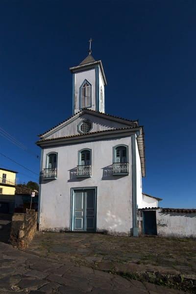 Cidades Históricas de Minas Gerais: Capela Nossa Senhora da Luz - Diamantina