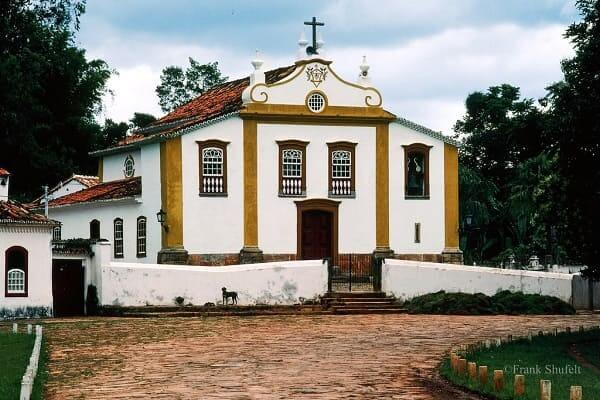 Cidades Históricas de Minas Gerais: Capela Nossa Senhora das Mercês - Tiradentes