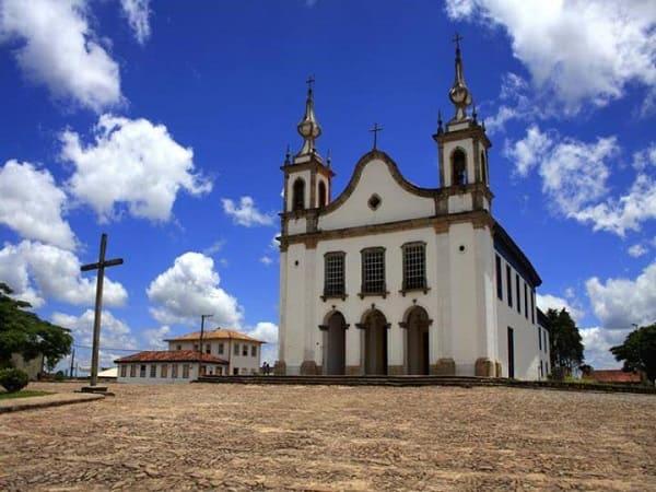 Cidades Históricas de Minas Gerais: Igreja Matriz de Nossa Senhora de Conceição - Catas Altas