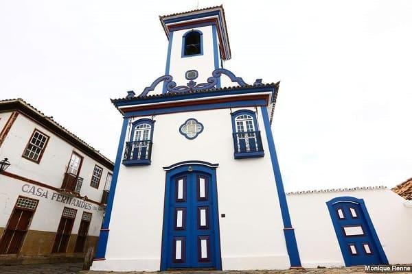Cidades Históricas de Minas Gerais: Igreja Nossa Senhora do Amparo - Diamantina