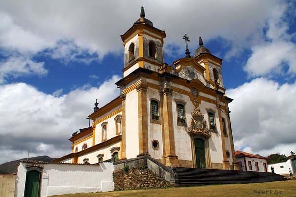 Cidades Históricas de Minas Gerais: Igreja São Francisco de Assis - Mariana
