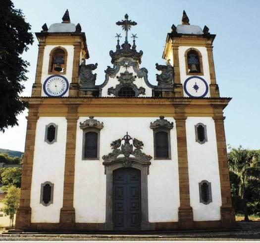 Cidades Históricas de Minas Gerais: Igreja da Nossa Senhora do Carmo - Sabará