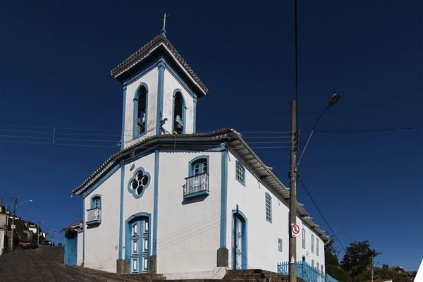 Cidades Históricas de Minas Gerais: Igreja de Nossa Senhora das Mercês - Diamantina