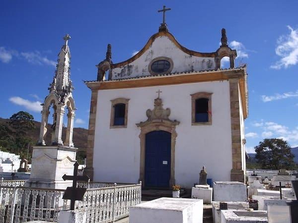 Cidades Históricas de Minas Gerais: Igreja de Nossa Senhora do Rosário - Caeté