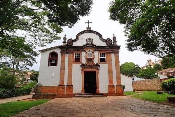 Cidades Históricas de Minas Gerais: Igreja de Nossa Senhora do Rosário dos Pretos - Tiradentes