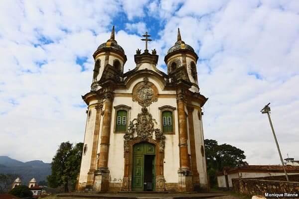 Cidades Históricas de Minas Gerais: Igreja de São Francisco de Assis - Ouro Preto