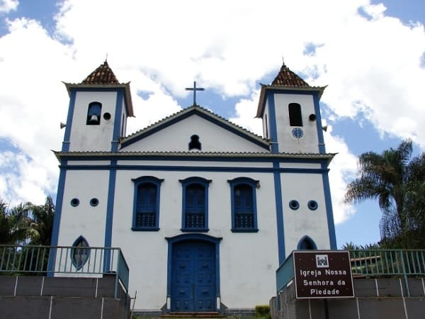 Cidades Históricas de Minas Gerais: Matriz de Nossa Senhora de Piedade - Brumadinho