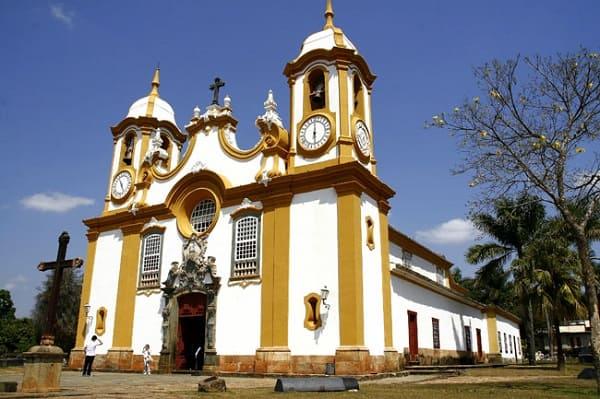 Cidades Históricas de Minas Gerais: Matriz de Santo Antônio - Tiradentes