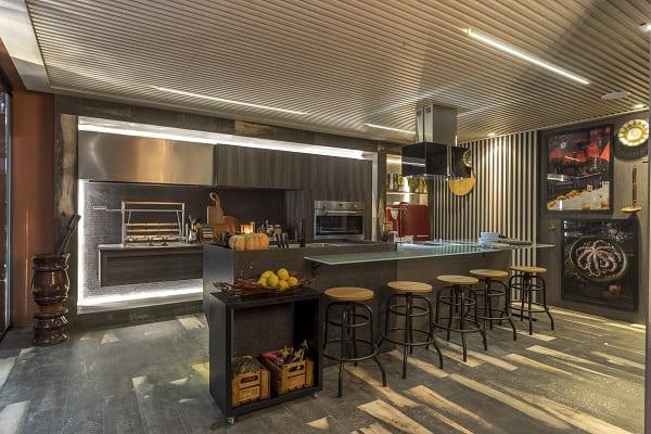 Morar Mais Por Menos São Paulo: Cris Schiavoni - Cozinha das Sensações - bancada
