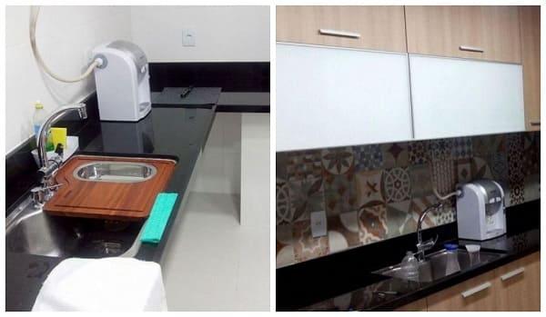 Reforma de casa: antes X depois Cozinha (projeto: Rejane Fonseca Arquitetura e Design de interiores)