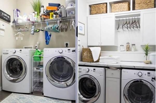 Reforma de casa: antes x depois lavanderia (foto: Arch Inspire)