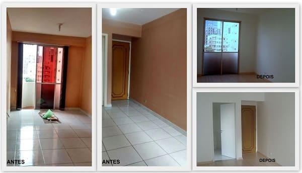 Reforma de casa: antes x depois (projeto: b² Arquitetura e Interiores)