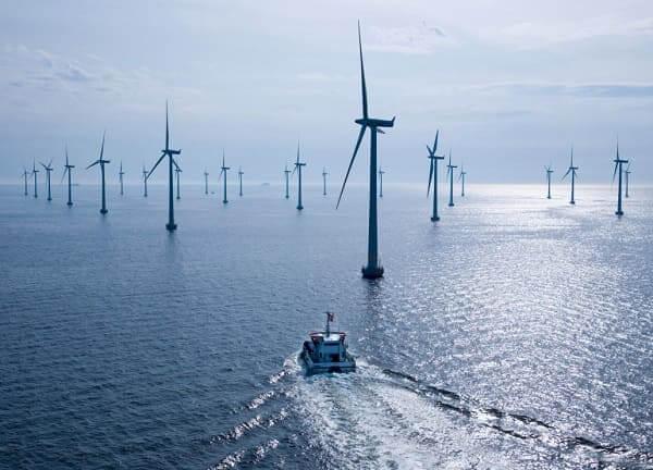 Energia eólica: exemplo de sistema Offshore