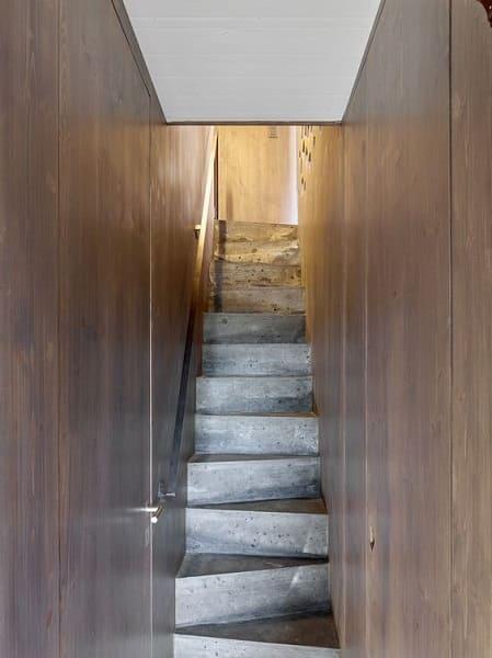 Escada de concreto: escada Santos Dumont é ideal para espaços menores (projeto: Savioz Fabrizzi Architectes)