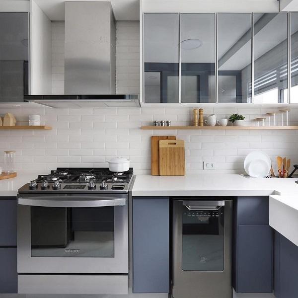 Doma Arquitetura: Apartamento do Mickey (cozinha)