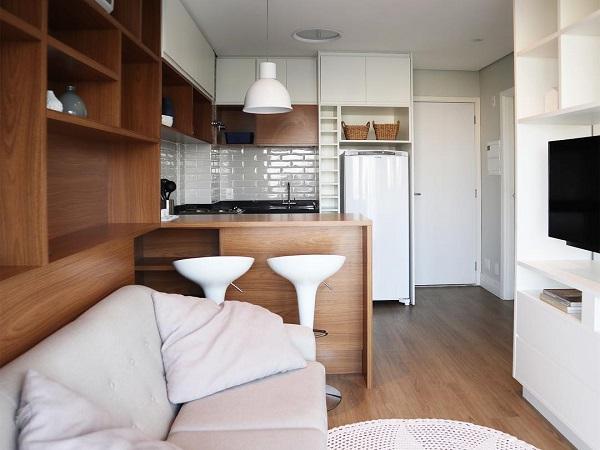 Doma Arquitetura: reforma em apartamento pequeno