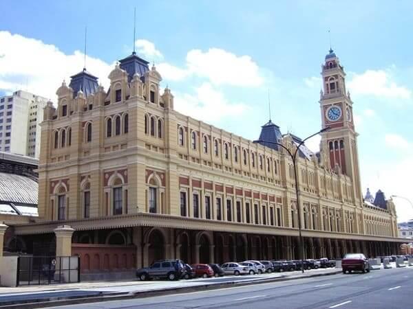 Estação da Luz: fachada