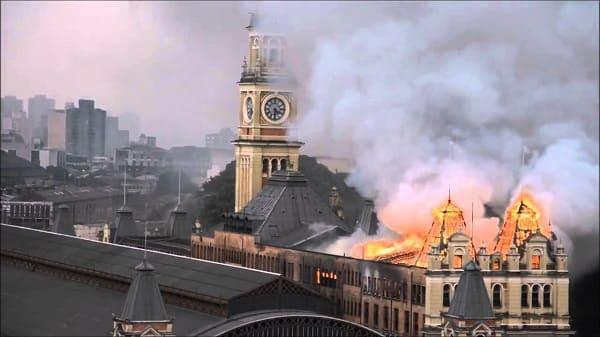 Estação da Luz: incêndio destruiu Museu da Língua Portuguesa