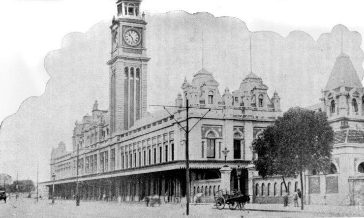 Estação da Luz no início do século XX