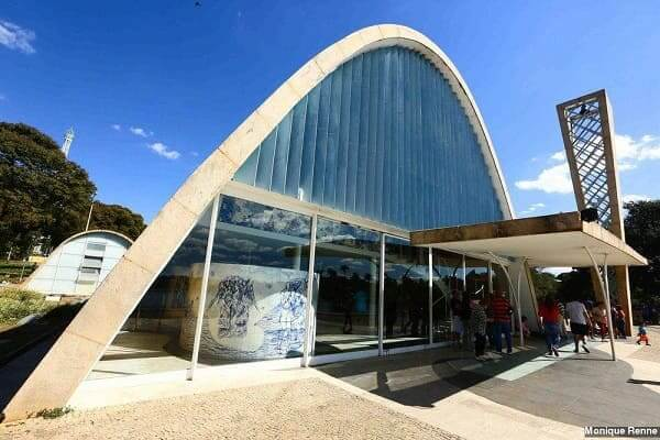 Igreja da Pampulha: brise na fachada