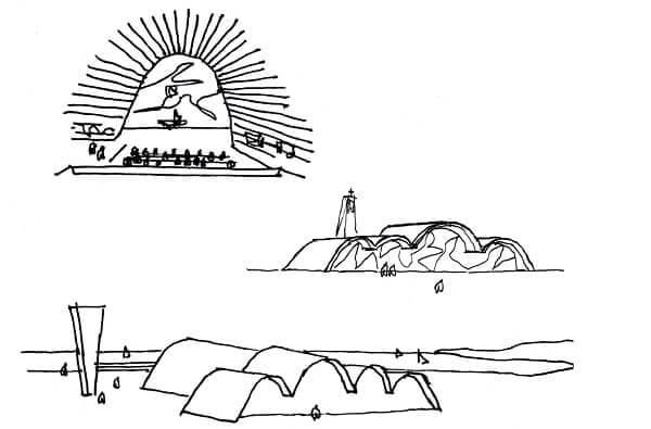 Igreja da Pampulha: desenho