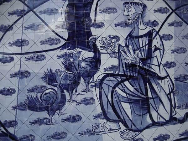 Igreja da Pampulha: detalhe do painel