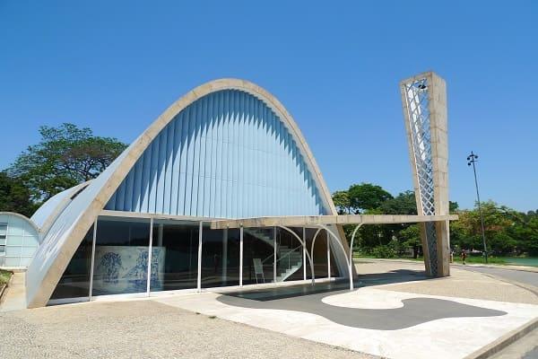 Igreja da Pampulha: fachada frontal
