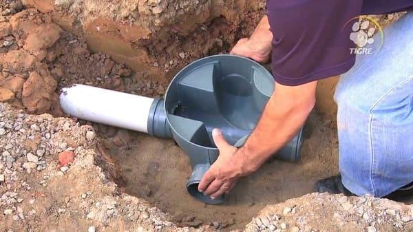 Instalação hidráulica: exemplo de caixa de inspeção (foto: construindoDECOR)