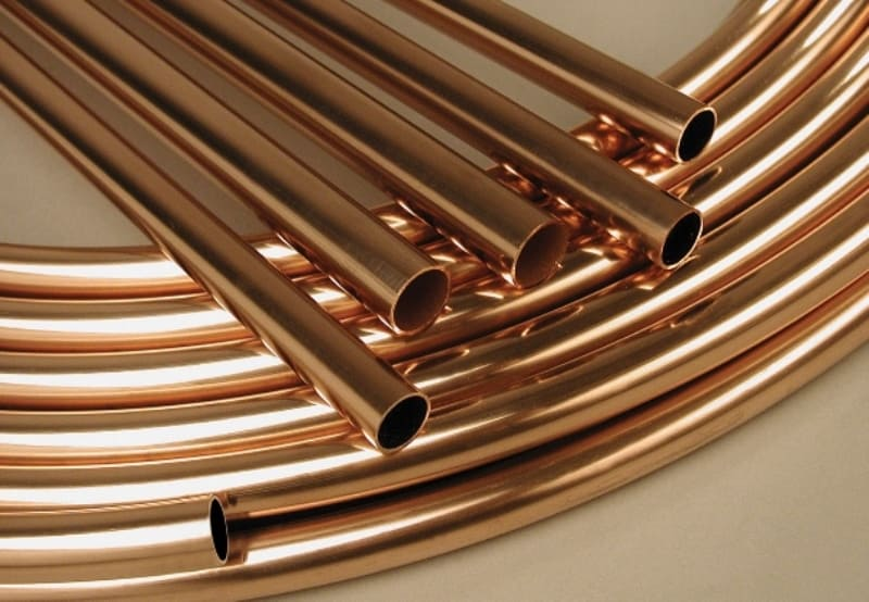 Instalação hidráulica: tubo de cobre