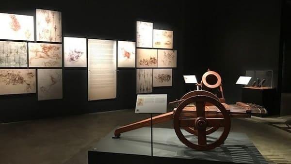 A NBR 5410 é aplicada em eventos e exposições (foto: exposição do Leonardo Da Vinci)