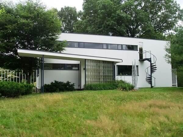 Principais Obras de Walter Gropius: Casa Gropius