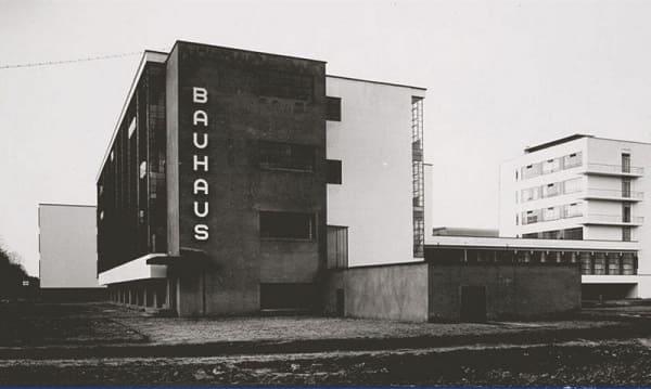Walter Gropius: fachada da Bauhaus