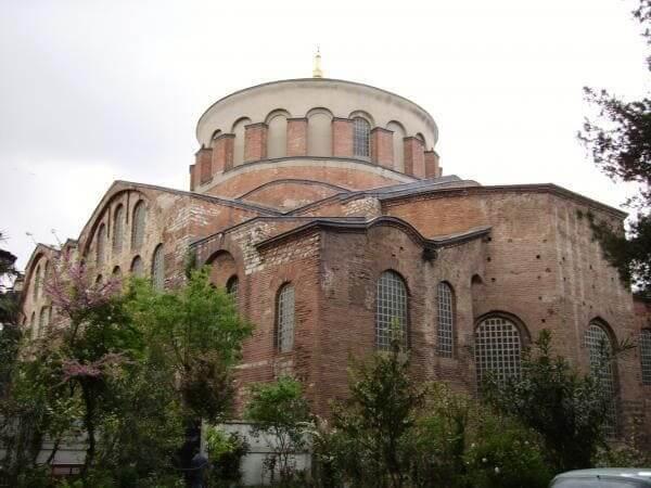 Arquitetura Bizantina: Igreja de Santa Irene