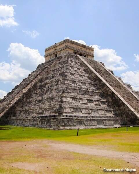 As sete maravilhas do mundo: Chichén Itzá - Piramide El Castilo