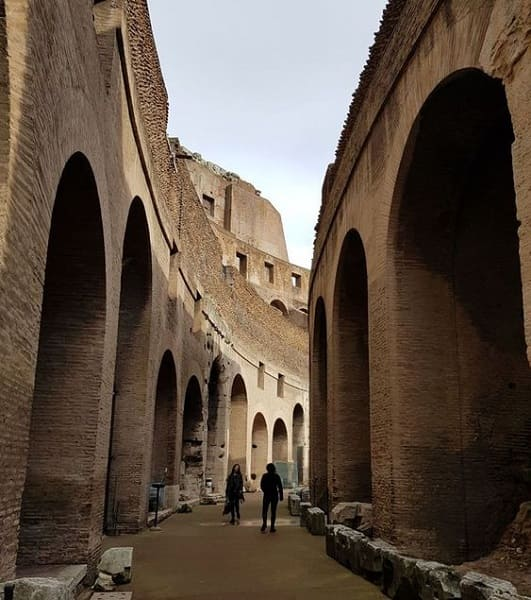 As sete maravilhas do mundo: Coliseu de Roma - Interior