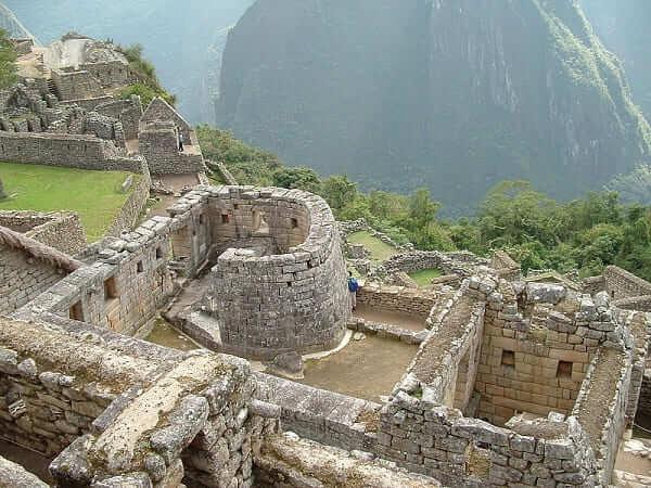 As sete maravilhas do mundo: Machu Picchu - ruínas do Templo do Sol