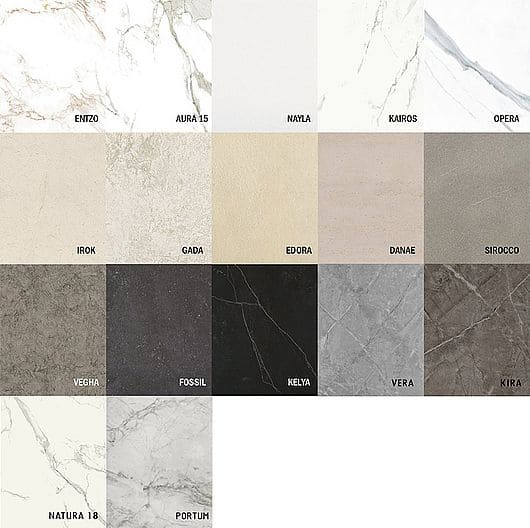 Cores Dekton: Linha Natural Collection, que imita revestimentos naturais