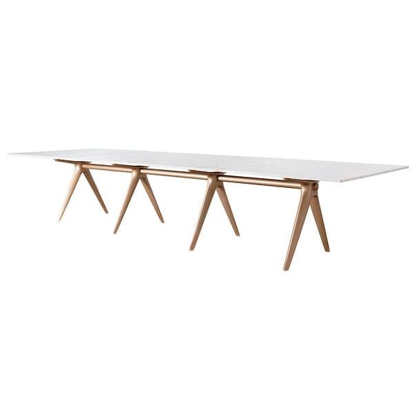 Jader Almeida: mesa de jantar hold tampo mármore