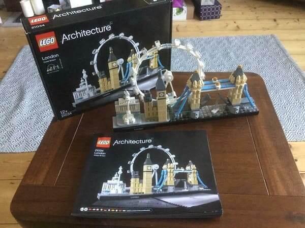 LEGO Arquitetura: Londres montado (foto: Youtube)