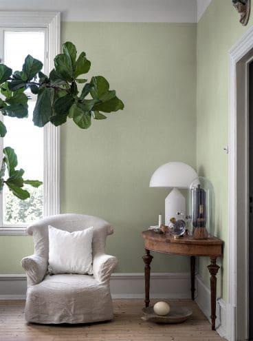 Neo Mint papel de parede é solução prática para o ambiente foto pinterest
