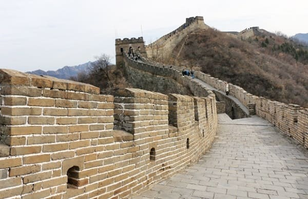 Sete maravilhas do mundo: Muralha da China - parte do percurso