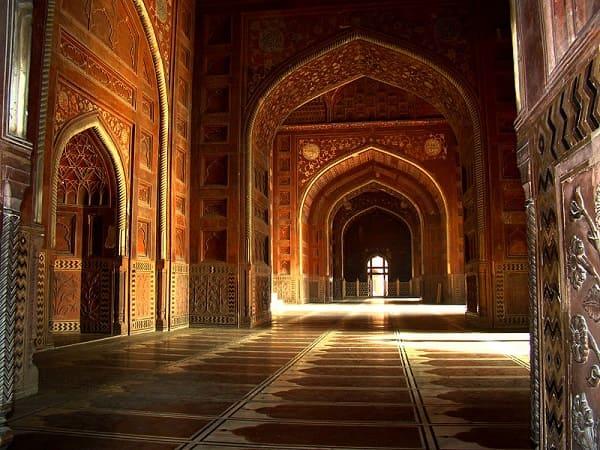 Sete maravilhas do mundo: Taj Mahal - interior