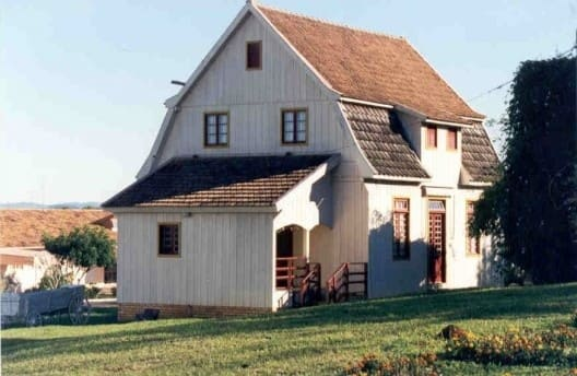 Casas Antigas: Casa em Itá. Santa Catarina (foto: Vitruvius/ Amilcar J Bogo)